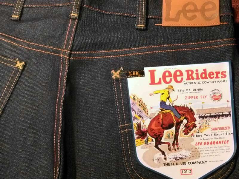 Фирма Lee: легендарная модель Riders 101Z