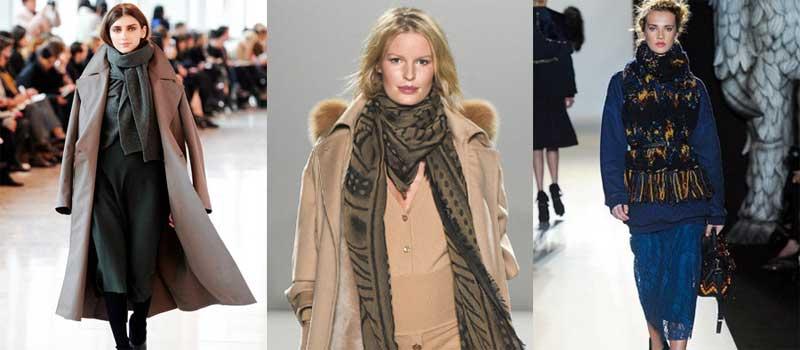 Какие палантины в моде в 2016 году?