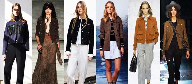 Замшевые женские куртки 2016