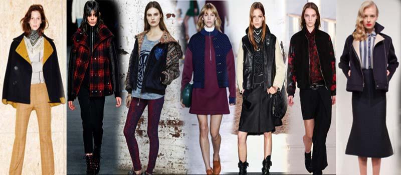 Универсальные женские куртки 2016