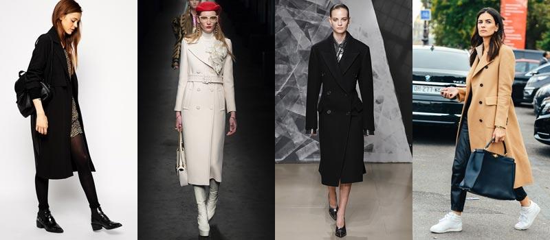 Модные женские пальто 2017: классические