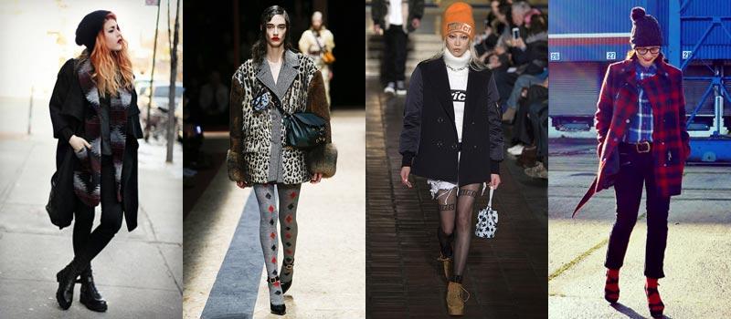 Модные женские пальто 2017: в стиле гранж