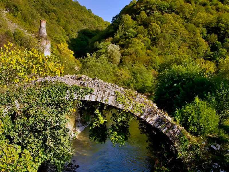 Абхазия. Беслетский мост