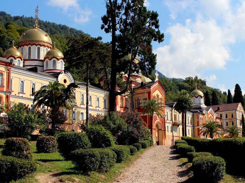Абхазия. Новоафонский монастырь