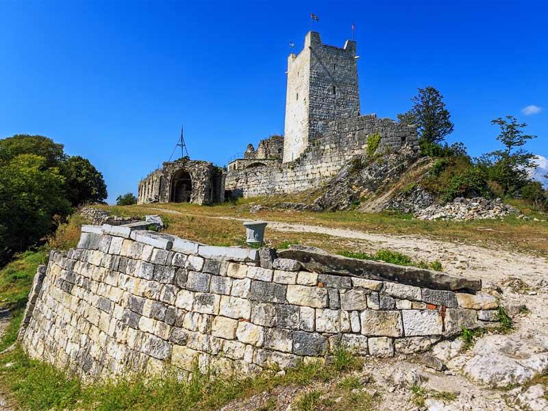 Абхазия. Анакопийская крепость