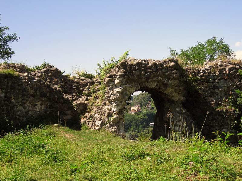Абхазия. Замок Баграта