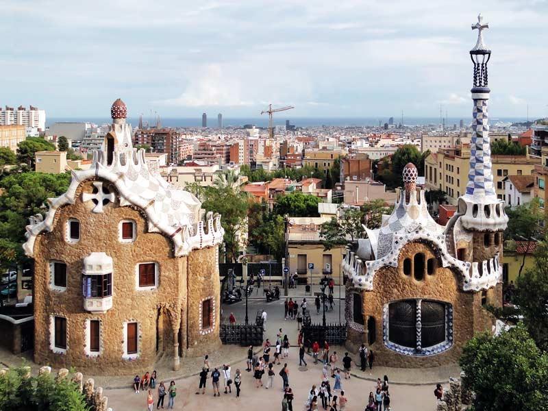Барселона. Парк Гуэля