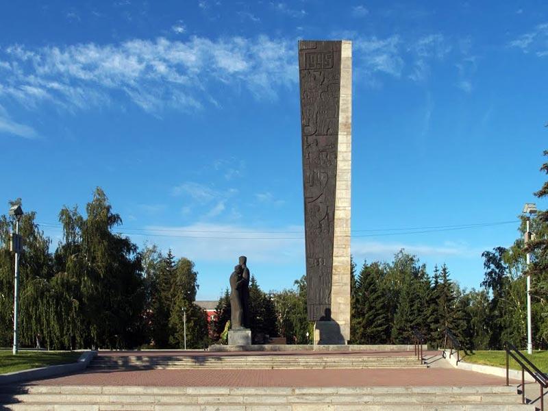 барнаул площадь победы фото