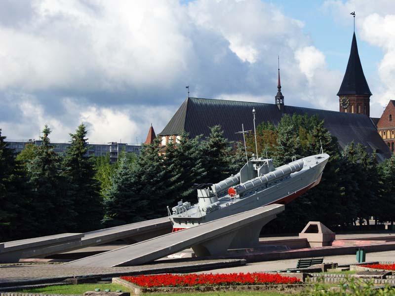 Калининград. Памятник морякам-балтийцам