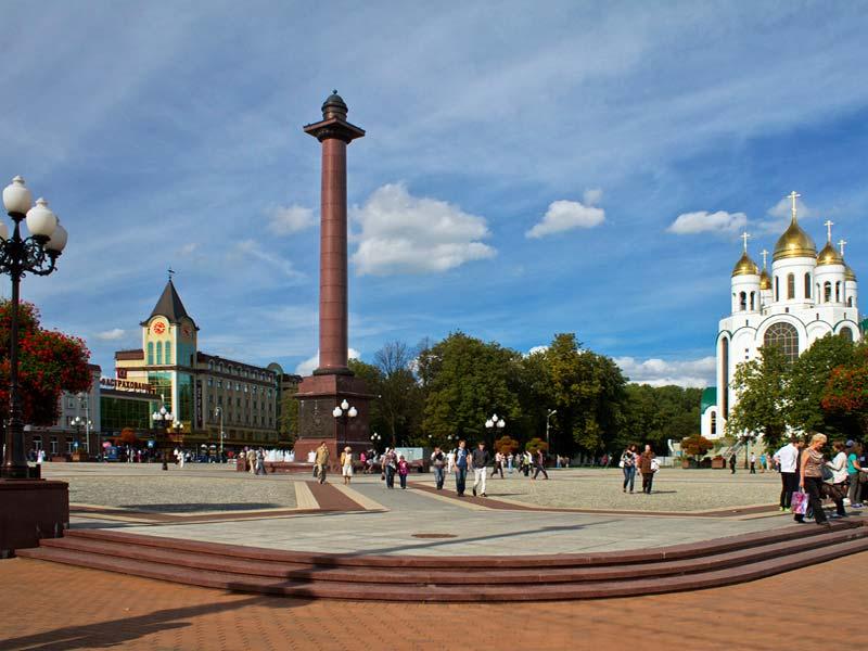 Калининград. Площадь Победы