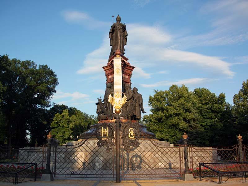 Краснодар. Памятник Екатерине Великой