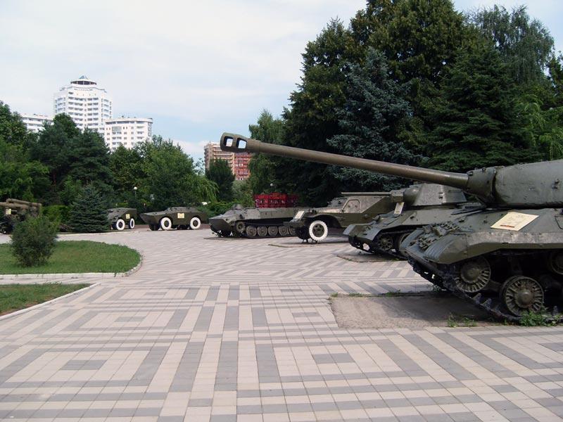 Краснодар. Музей «Оружие Победы»