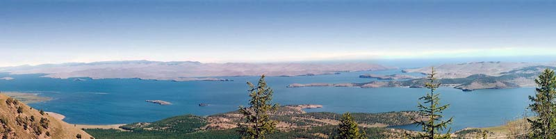 Озеро Анхель