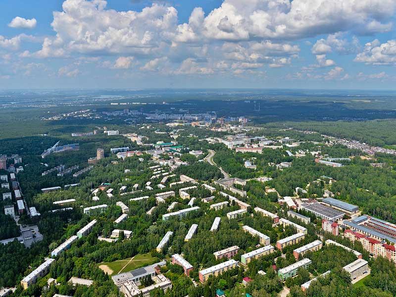 Новосибирск. Академгородок