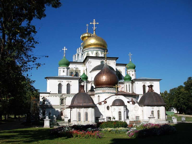 Подмосковье. Новоиерусалимский монастырь в Истре