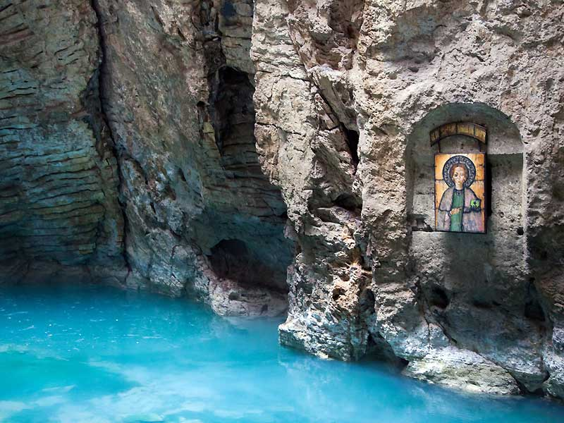 Пятигорск. Пещера и озеро «ПровалЪ»
