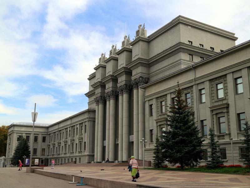 Самара. Театр оперы и балета