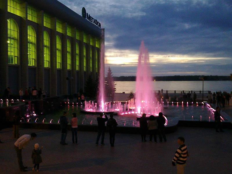 Самара. Поющие фонтаны