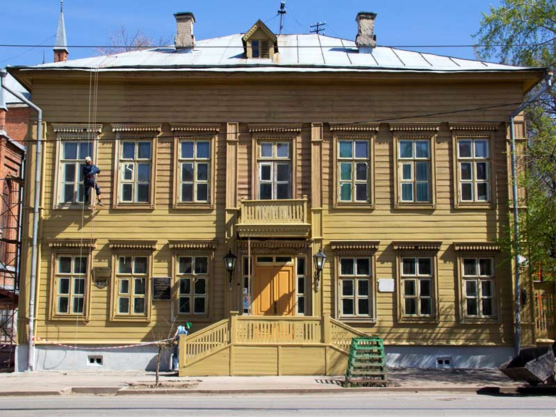 Самара. Музей-усадьба А.Н. Толстого