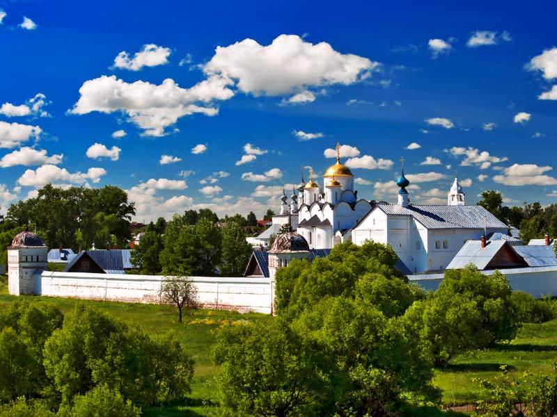 Суздаль. Покровский монастырь