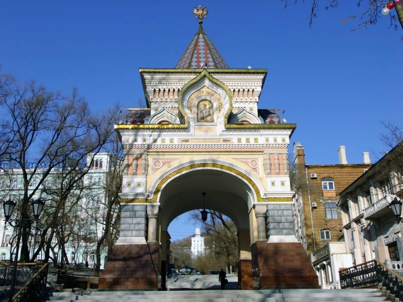 Владивосток. Триумфальные Николаевские ворота