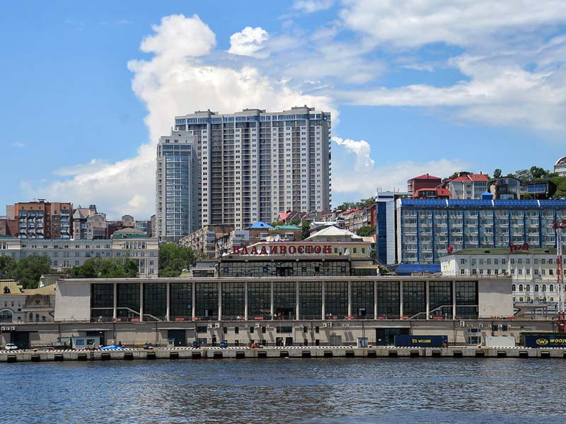 Владивосток. Морской вокзал