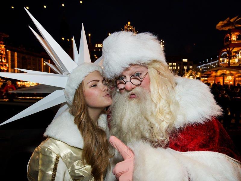 Дед Мороз в Германии: Вайнахтсман и Кристкинд