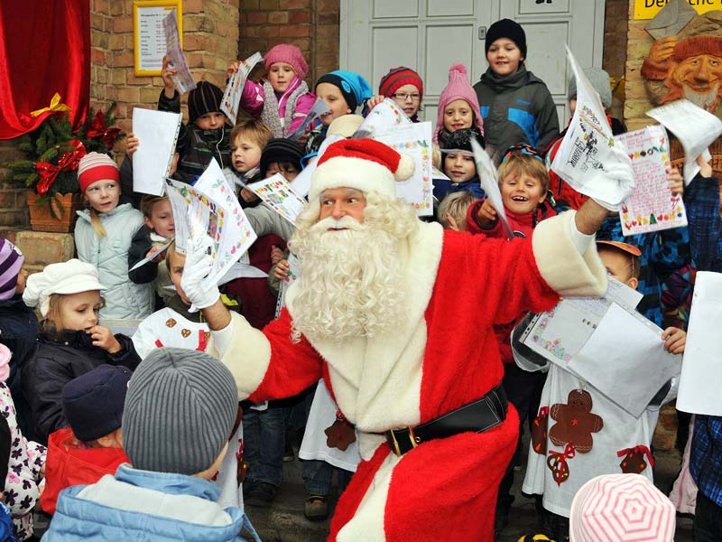 Дед Мороз в Германии: резиденция Вайнахтсмана в Химмельпфорте