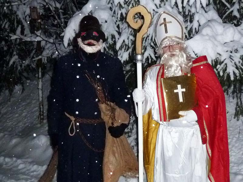 Дед Мороз в Германии: Санта Николаус и Рупрехт
