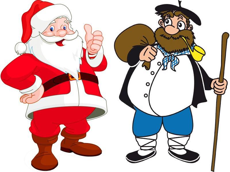 В Испании два Деда Мороза – Папа-Ноэль и Олентцеро