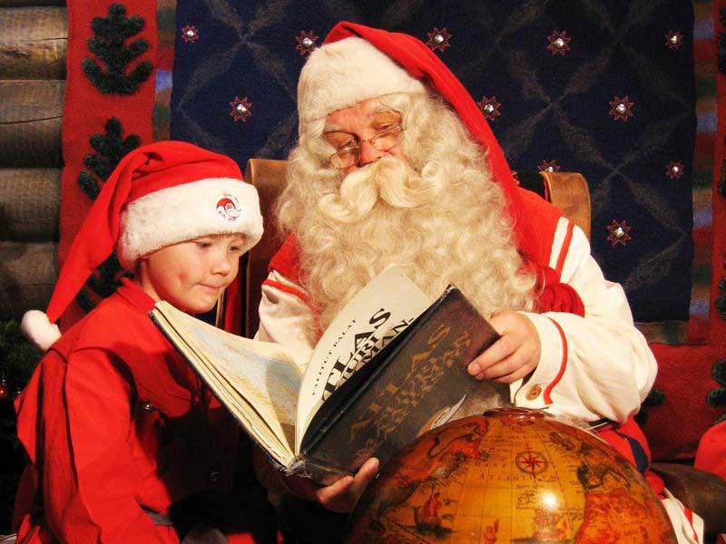 Дед Мороз в Испании: у испанцев его зовут Папа Ноэль