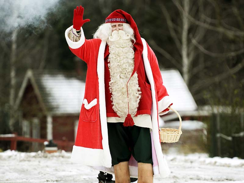 Дед Мороз в Финляндии: его зовут Йоулупукки