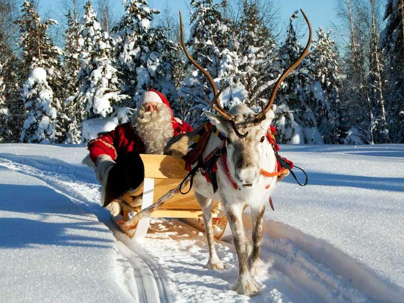 Дед Мороз в Финляндии: Йоулупукки везет подарки