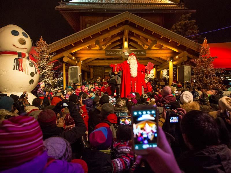 Дед Мороз в Финляндии: резиденция  Йоулупукки в Лапландии