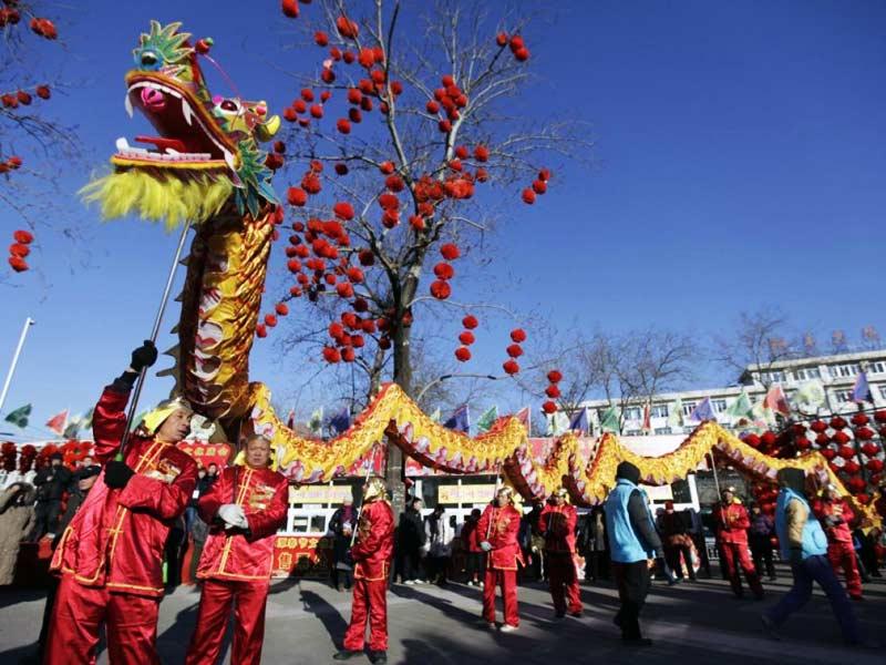Новый год в Китае: современность