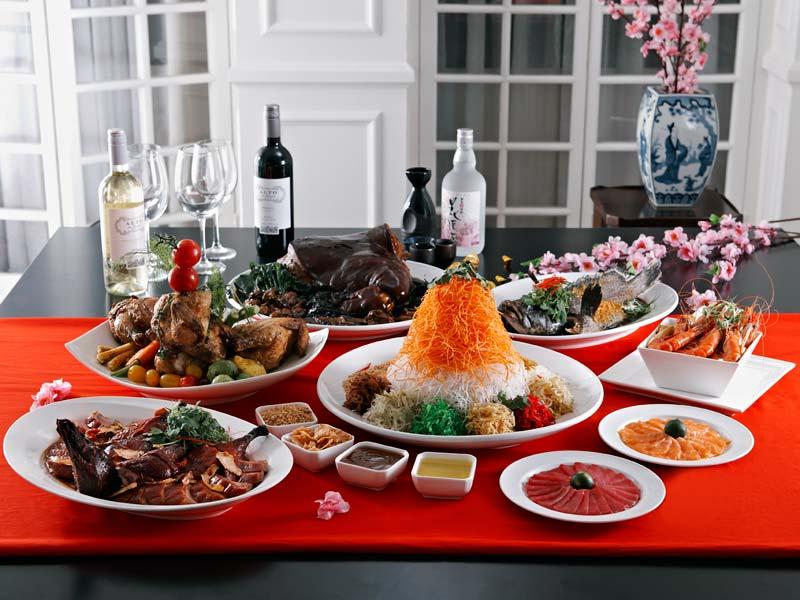 Новый год в Китае: новогодний стол