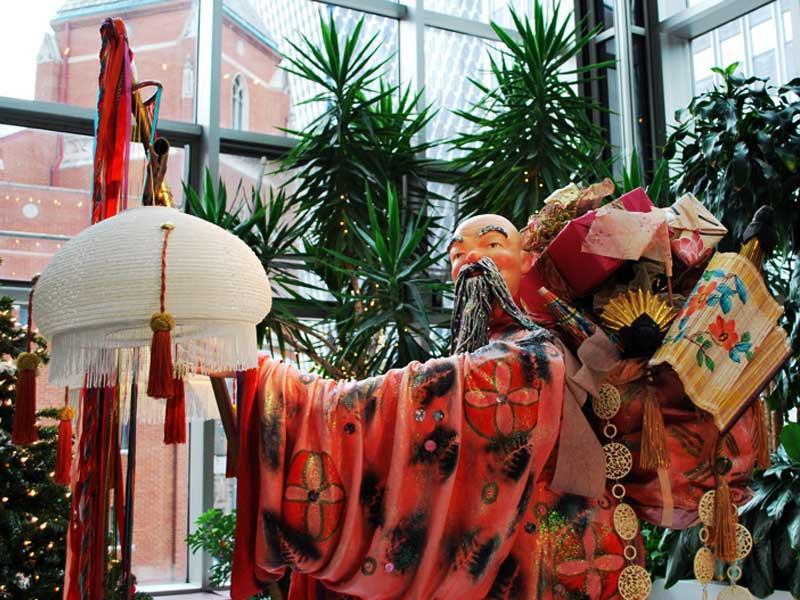 Новый год в Китае: китайский Дед Мороз