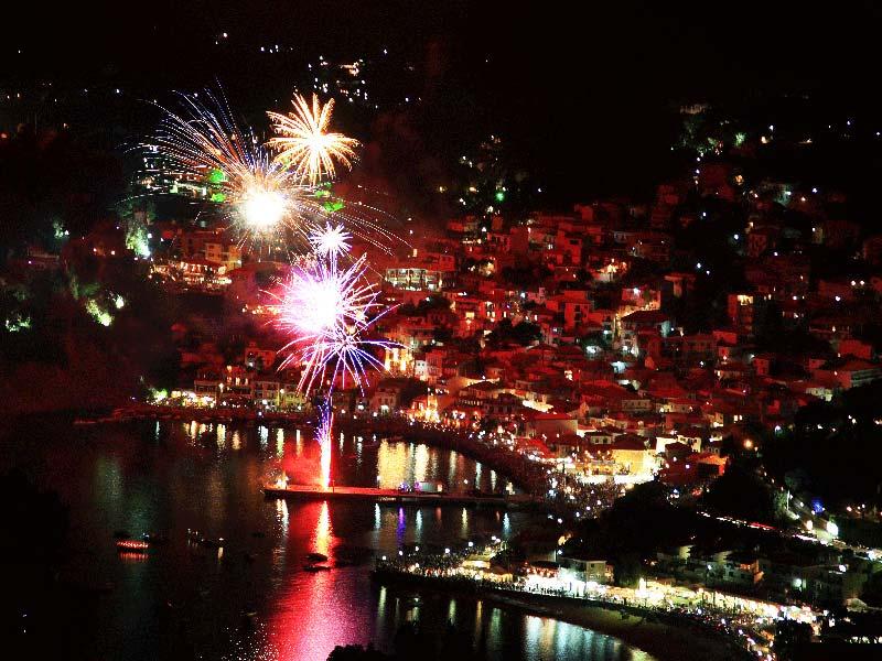 Новый год в Греции: современность