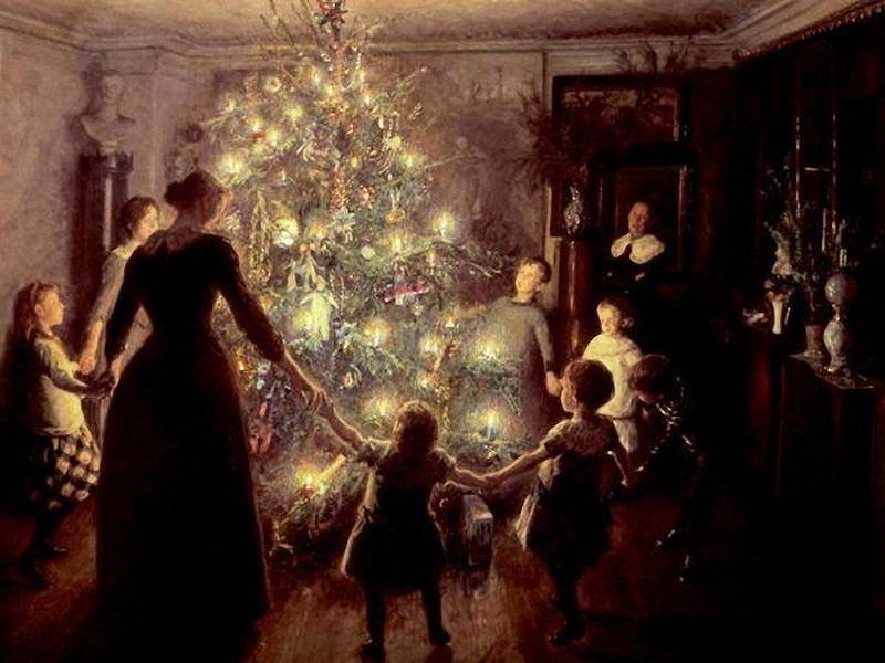 Почему на Новый год наряжают елку: рождественская ель в царской России
