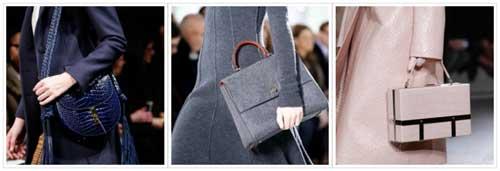Форма женских сумок 2016