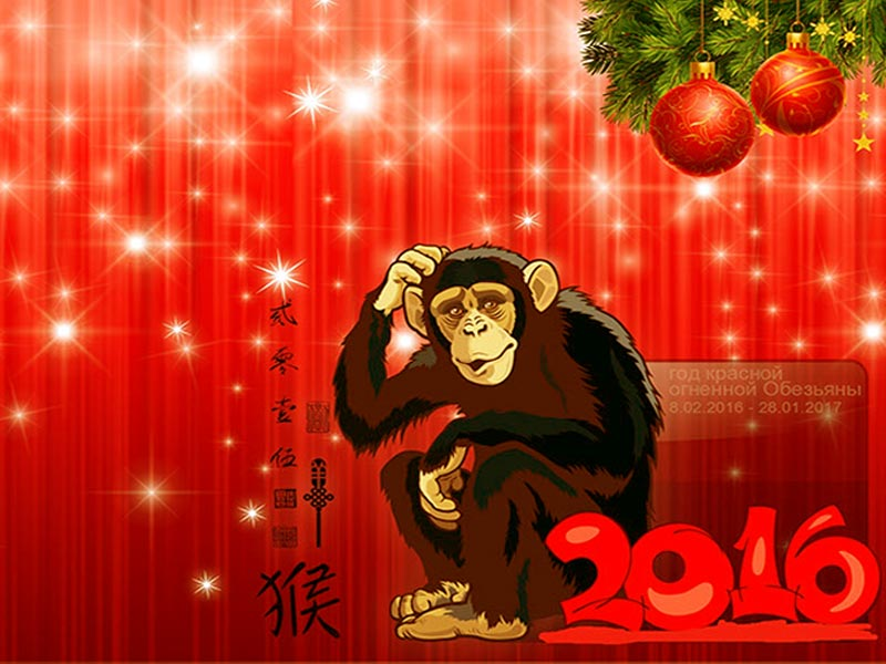 огненной обезьяны под знаком
