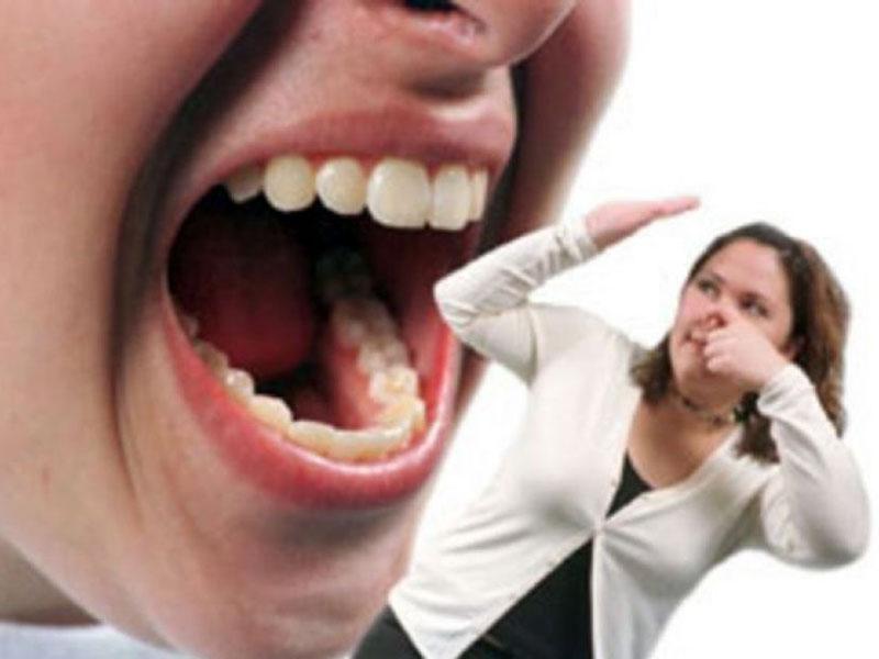 после сна неприятный запах изо рта