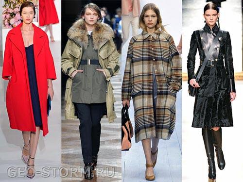 Верхняя одежда мода зима 2013